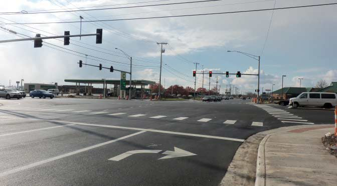 Proudfoot associates engineers State route 25 project